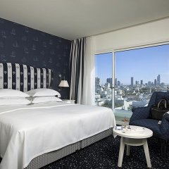 Shalom Hotel & Relax, Tel Aviv - an Atlas Boutique Hotel 4* Улучшенный номер разные типы кроватей фото 3