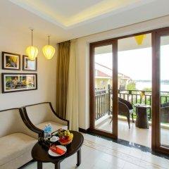 Отель Hoi An Silk Marina Resort & Spa 4* Номер Делюкс с различными типами кроватей фото 13