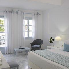 Отель Santorini Kastelli Resort 5* Улучшенный номер с различными типами кроватей фото 8