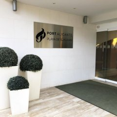 Hotel Port Alicante фитнесс-зал фото 3