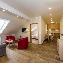 Отель Aparthotel Lublanka 3* Люкс с различными типами кроватей фото 14