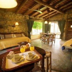 Отель Cabañas Y Suites Villa Bonita Вейнтисинко де Майо в номере