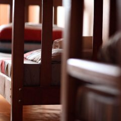 Хостел M42 Кровать в общем номере с двухъярусной кроватью фото 11