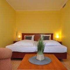 Отель Parkhotel im Lehel 3* Студия с различными типами кроватей фото 3