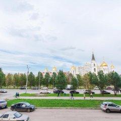 Хостел Nice Hostel Samara Самара парковка