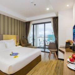 Sen Viet Premium Hotel Nha Trang 4* Номер Делюкс с двуспальной кроватью