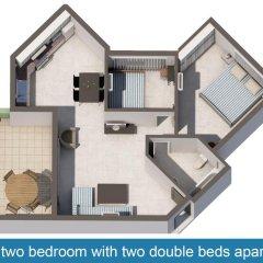 Апартаменты Artemis Cynthia Complex Апартаменты с 2 отдельными кроватями фото 2