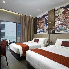 Hotel Boss 3* Стандартный семейный номер с двуспальной кроватью фото 4