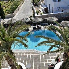 Отель Kafouros Hotel Греция, Остров Санторини - отзывы, цены и фото номеров - забронировать отель Kafouros Hotel онлайн бассейн фото 2