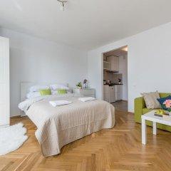 Апартаменты Rondo ONZ P&O Apartments Студия Делюкс с различными типами кроватей фото 2