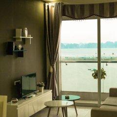 Отель Condotel Ha Long Апартаменты с различными типами кроватей фото 30