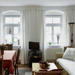 Отель Ferienwohnung Priessnitz Германия, Дрезден - отзывы, цены и фото номеров - забронировать отель Ferienwohnung Priessnitz онлайн комната для гостей фото 4