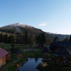 Гостиница Медведь Волосянка балкон