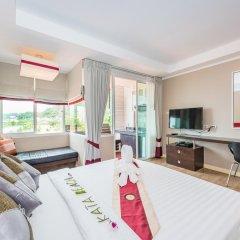 Апартаменты Kata Beach Studio Улучшенная студия с различными типами кроватей фото 40