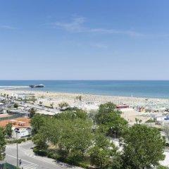 Отель Milton Rimini пляж
