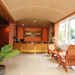 Отель Larn Park Resortel спа