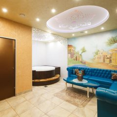 Мини-отель Бархат Представительский люкс разные типы кроватей фото 9
