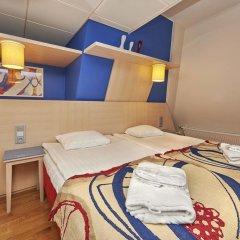 Отель Cumulus Hakaniemi 3* Улучшенный номер с различными типами кроватей фото 5
