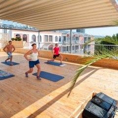 Отель Longozа Hotel - Все включено Болгария, Солнечный берег - отзывы, цены и фото номеров - забронировать отель Longozа Hotel - Все включено онлайн фитнесс-зал