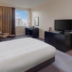 Отель Hilton London Canary Wharf 4* Номер Делюкс с различными типами кроватей фото 4