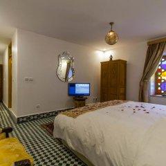 Отель Riad Amor Марокко, Фес - отзывы, цены и фото номеров - забронировать отель Riad Amor онлайн комната для гостей фото 3