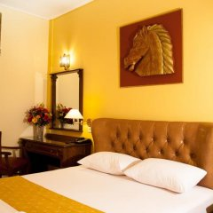 Отель Galini Palace 3* Стандартный номер с двуспальной кроватью фото 9