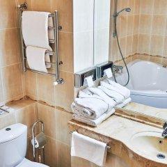 Гостиница Золотое Кольцо Кострома Люкс с двуспальной кроватью фото 12