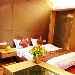 Отель Guangzhou HipHop Apartment Poly World Trade Branch Китай, Гуанчжоу - отзывы, цены и фото номеров - забронировать отель Guangzhou HipHop Apartment Poly World Trade Branch онлайн комната для гостей фото 3