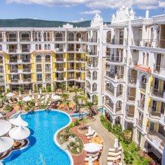 Отель Harmony Suites Monte Carlo Болгария, Солнечный берег - 1 отзыв об отеле, цены и фото номеров - забронировать отель Harmony Suites Monte Carlo онлайн бассейн фото 2