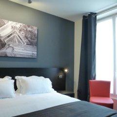 Отель Hôtel Helussi 3* Стандартный номер с различными типами кроватей