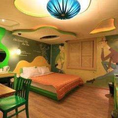 Haeundae Grimm Hotel 2* Номер Делюкс с различными типами кроватей фото 42