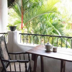 Отель Villa Taprobane балкон