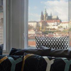 Отель JustPrague Apartment - Castle view Чехия, Прага - отзывы, цены и фото номеров - забронировать отель JustPrague Apartment - Castle view онлайн комната для гостей фото 5