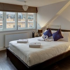 Отель Knightsbridge Apartments Великобритания, Лондон - отзывы, цены и фото номеров - забронировать отель Knightsbridge Apartments онлайн комната для гостей фото 4