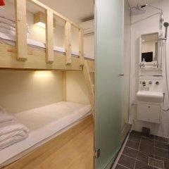 Отель STEP INN Myeongdong 1 3* Стандартный номер с двухъярусной кроватью