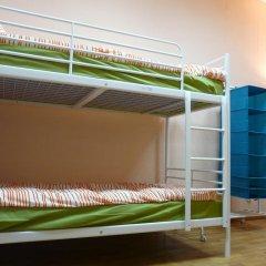 Гостиница Аэрохостел Кровать в общем номере с двухъярусной кроватью фото 2