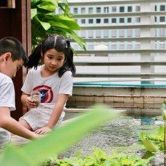 Отель Dusit Suites Hotel Ratchadamri, Bangkok Таиланд, Бангкок - 1 отзыв об отеле, цены и фото номеров - забронировать отель Dusit Suites Hotel Ratchadamri, Bangkok онлайн бассейн фото 3