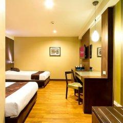 Отель Bally Suite Silom 3* Номер Делюкс с различными типами кроватей фото 12