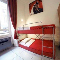 Palladini Hostel Rome Номер Делюкс с различными типами кроватей фото 4