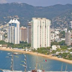 Отель Pent House Condo in Acapulco пляж фото 2