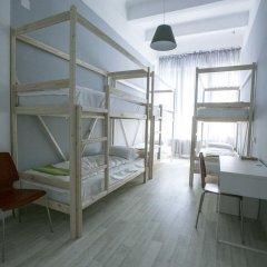 Хостел Bla Bla Hostel Rostov Кровать в мужском общем номере с двухъярусной кроватью фото 12