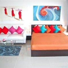 Апартаменты Chic Karon Studio Sea View комната для гостей фото 2