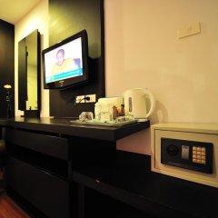 Отель Aloha Residence Пхукет сейф в номере