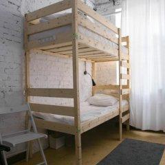 АРТ хостел Культура Кровать в общем номере с двухъярусными кроватями фото 5