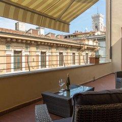 Апартаменты Apartments Florence Repubblica Terrace балкон