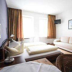 Отель Pension/Guesthouse am Hauptbahnhof Номер Комфорт с различными типами кроватей фото 3