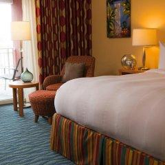 Отель Renaissance Curacao Resort & Casino 4* Стандартный номер с различными типами кроватей фото 5
