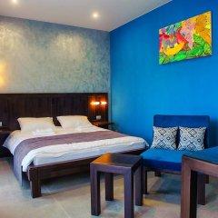 Gaudi stylish hotel Стандартный номер двуспальная кровать фото 5