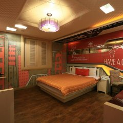 Haeundae Grimm Hotel 2* Стандартный номер с различными типами кроватей фото 23