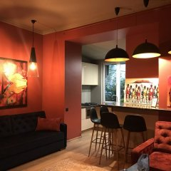 Апартаменты Apartments Lux in city center Lviv гостиничный бар